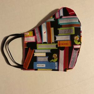 Accessories - Book Worm Double-sided Face Mask